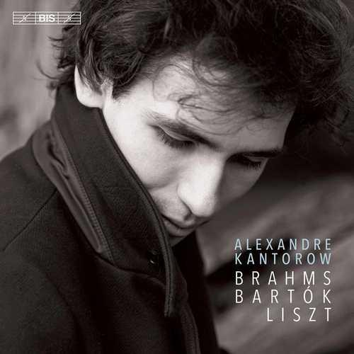 Alexandre Kantorow - Brahms, Bartok, Liszt (24/96 FLAC)