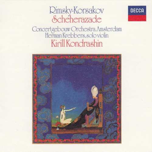 Argerich, Kondrashin: Rimsky-Korsakov - Sheherazade, Tchaikovsky - Piano Concerto no.1 (SACD)