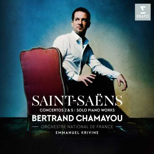 Chamayou: Saint-Saëns - Piano Concertos 2 & 5, Solo Piano Works (24/96 FLAC)