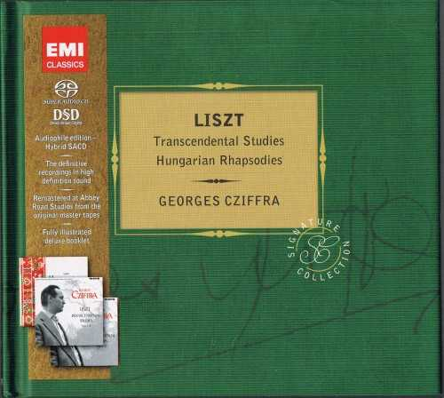 Cziffra: Liszt - Hungarian Rhapsodies, Transcendantal Studies (SACD)