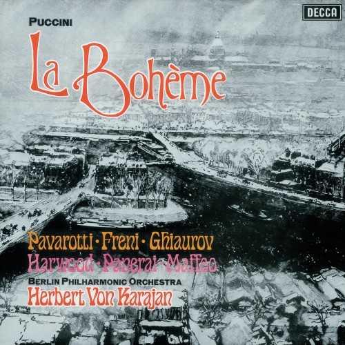 Freni, Pavarotti, Panerai, Harwood, Ghiaurov, Karajan: Puccini - La Bohème 1972 (24/96 FLAC)