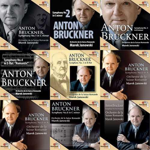 Janowski: Bruckner - Symphonies 1-9 (SACD)