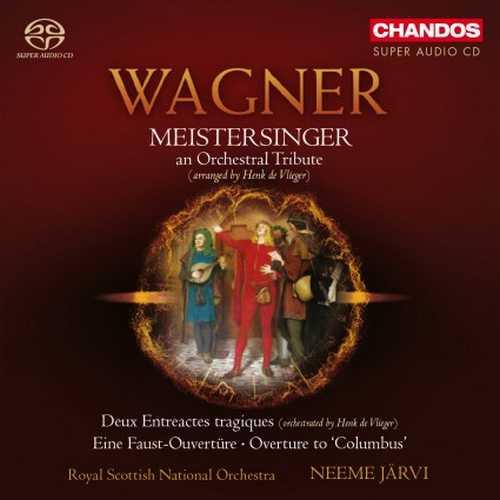 Järvi: Wagner - Meistersinger, Eine Faust-Overture, Deux Entreactes Tragiques, Overture to Columbus (24/96 FLAC)