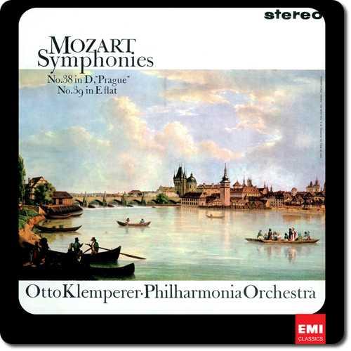 """Klemperer: Mozart - Symphonies no.38 """"Prague"""", no.39 (24/96 FLAC)"""