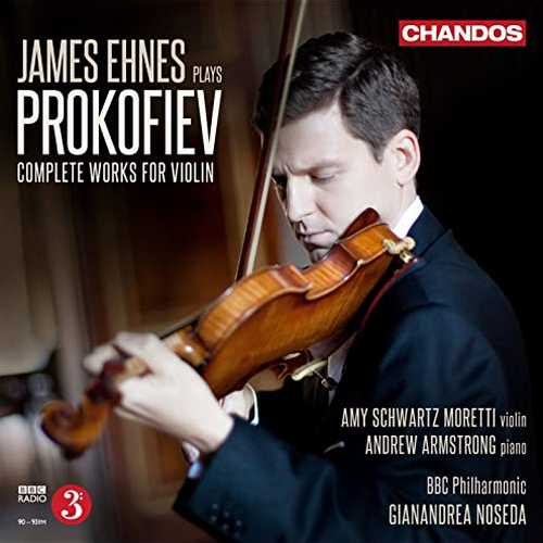 James Ehnes plays Prokofiev. Complete Works for Violin (24/96 FLAC)