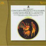 Paillard: Mozart - Concerto for Flute & Harp KV299, Concerto for Clarinet KV622 (SACD)