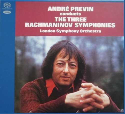 Previn: Rachmaninov - The Three Symphonies, Orchestral Works (SACD)