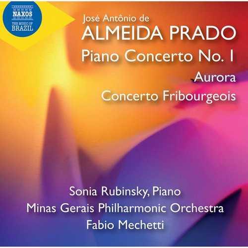 Rubinsky, Mechetti: Almeida Prado - Piano Concerto no.1, Aurora, Concerto Fribourgeois (24/96 FLAC)