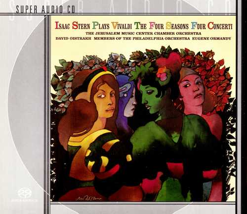 Isaac Stern plays Vivaldi The Four Seasons, Four Concerti (SACD)