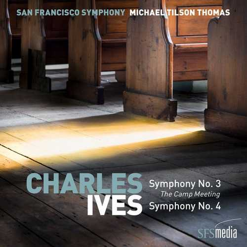 Thomas: Ives - Symphony no.3, 4, Selected American Hymns (24/192 FLAC)