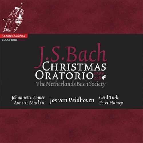 Veldhoven: Bach - Christmas Oratorio (24/192 FLAC)