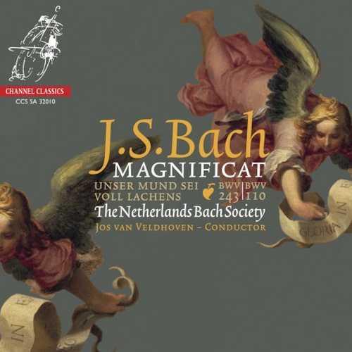 Veldhoven: Bach - Magnificat, Unser Mund sei voll Lachens (24/192 FLAC)