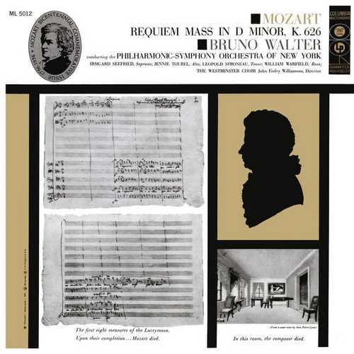 Walter: Mozart - Requiem Mass in D Minor K.626. Remastered (24/96 FLAC)