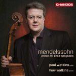 Paul Watkins, Huw Watkins - Mendelssohn - Works for Cello & Piano (24/96 FLAC)