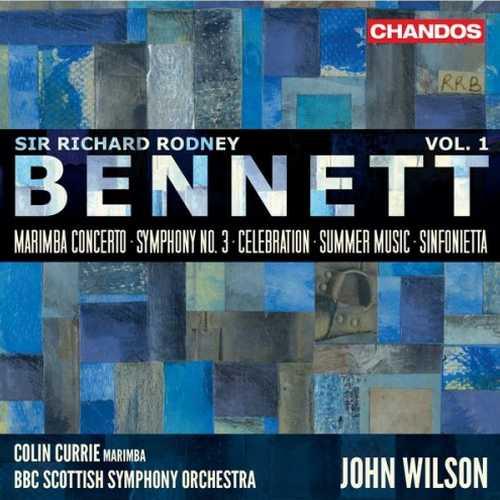 Richard Rodney Bennett - Orchestral Works vol.1 (24/96 FLAC)