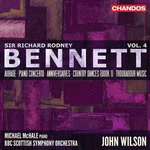 Richard Rodney Bennett - Orchestral Works vol.4 (24/96 FLAC)
