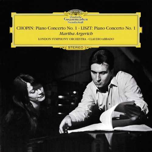 Argerich, Abbado: Chopin - Piano Concerto no.1, Liszt - Piano Concerto no.1 (24/192 FLAC)