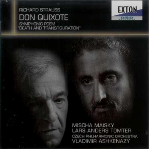Ashkenazy, Maisky, Tomter: Strauss – Don Quixote, Tod und Verklärung (SACD)