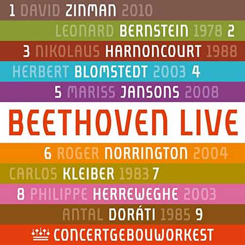 Royal Concertgebouw Orchestra: Beethoven Live (24/44 FLAC)