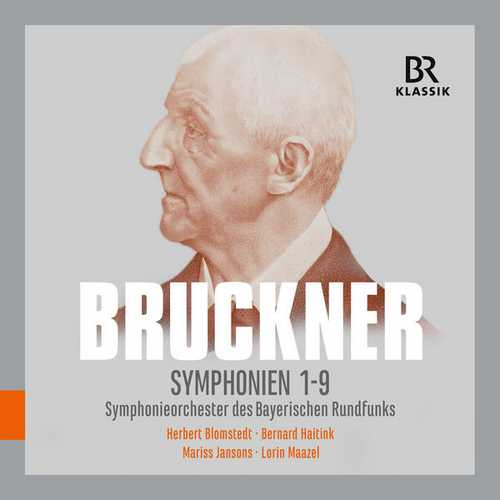 Blomstedt, Haitink, Jansons, Maazel: Bruckner - Symphonies no. 1-9 (24/48 FLAC)