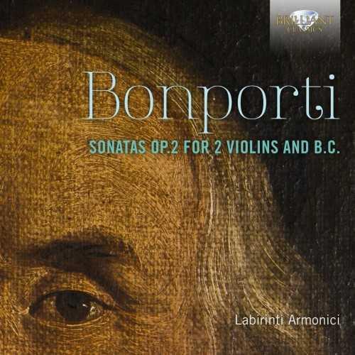 Labirinti Armonici: Bonporti - Sonatas op.2 for 2 Violins and B.C. (24/88 FLAC)