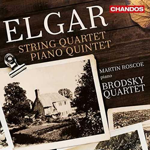 Roscoe, Brodsky Quartet: Elgar - String Quartet, Piano Quintet (24/96 FLAC)