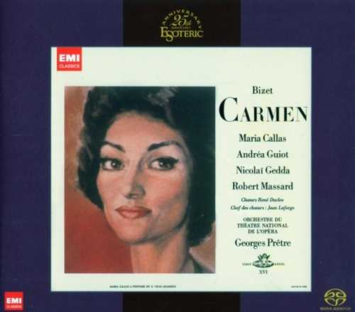 Pretre, Callas, Gedda, Guiott, Massard: Bizet - Carmen 1964 (SACD)
