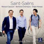 Capuçon, Chamayou, Moreau: Saint-Saëns - Sonates & Trio (24/96 FLAC)