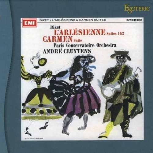 Cluytens: Bizet - L'Arlésienne Suites no.1 & 2, Carmen Suite (SACD)