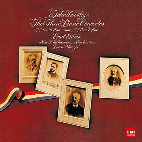 Gilels, Maazel: Tchaikovsky - The Three Piano Concertos, Rachmaninov - Piano Concerto no.3 (SACD)
