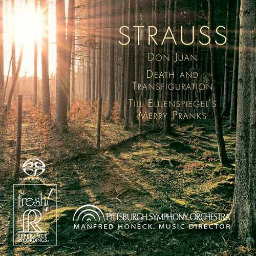 Honeck: Strauss - Don Juan, Death and Transfiguration, Till Eulenspiegel's Merry Pranks (24/176 FLAC)