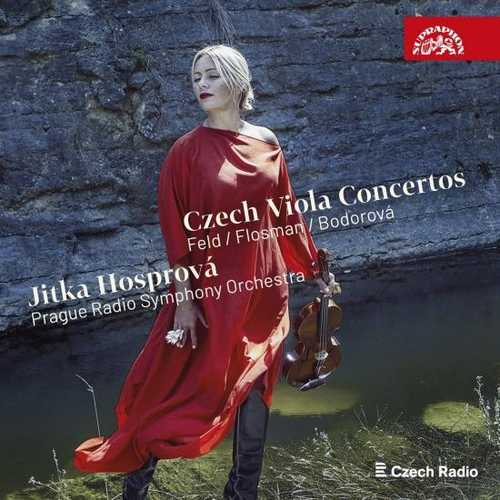 Hosprova: Czech Viola Concertos (24/48 FLAC)
