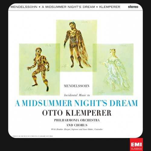Klemperer: Mendelssohn - A Midsummer Night's Dream (24/96 FLAC)