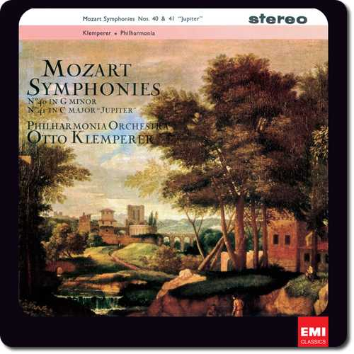 "Klemperer: Mozart - Symphonies no.40 in G Minor, no.41 in C Major ""Jupiter"" (24/96 FLAC)"