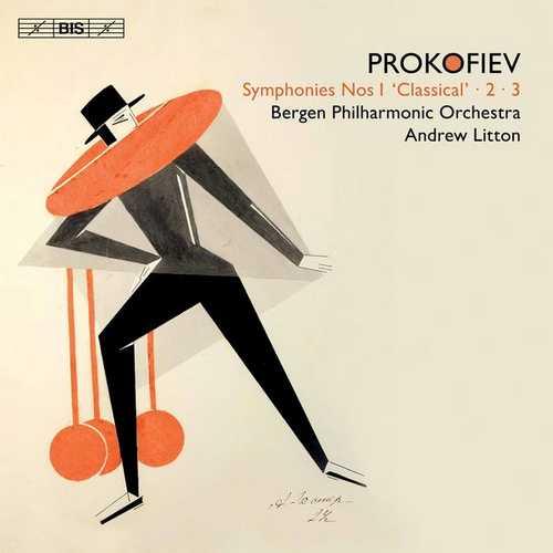 Litton: Prokofiev - Symphonies no. 1, 2, 3 (24/96 FLAC)
