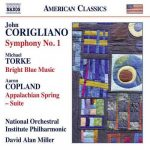 Miller: Corigliano - Symphony no.1, Torke - Bright Blue Music, Copland - Appalachian Spring (24/96 FLAC)