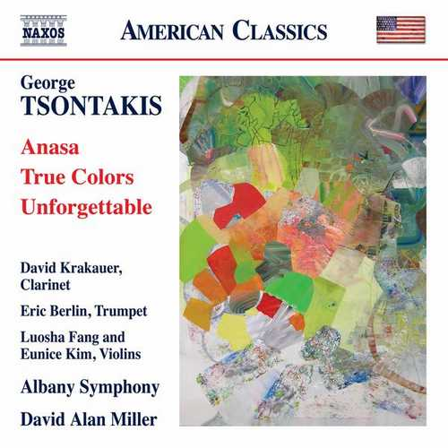 Miller: Tsontakis - Anasa, True Colors, Unforgettable (24/96 FLAC)