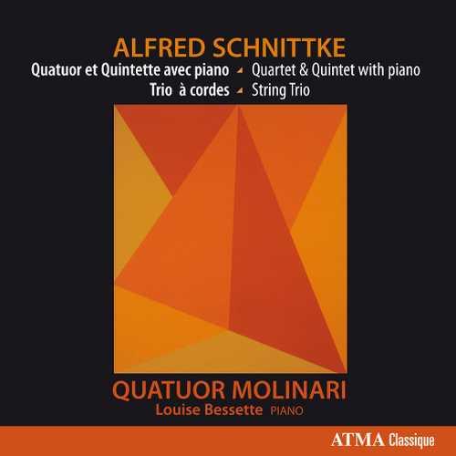 Molinari Quartet: Schnittke - Piano Quartet, String Trio, Piano Quintet (24/96 FLAC)