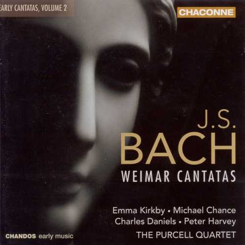 The Purcell Quartet: J.S. Bach - Early Cantatas vol.2 (24/96 FLAC)