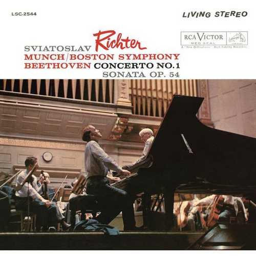 Richter: Beethoven - Concerto no.1, Sonata op.54 (24/44 FLAC)