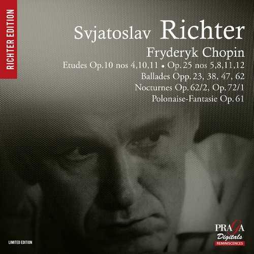 Richter: Chopin - Ballades, Etudes, Nocturnes, Polonaise-Fantasie (SACD)