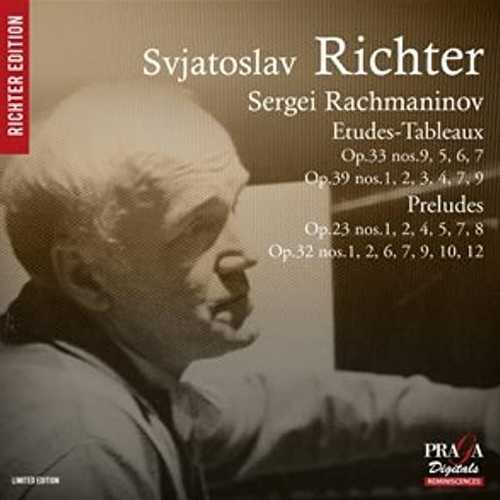Richter: Rachmaninov - Etudes-Tableaux, Preludes (SACD)