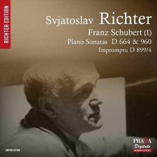 Richter: Schubert - Piano Sonata D664, D960, Impromptu (SACD)
