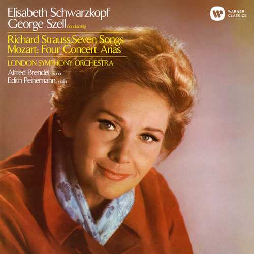 Schwarzkopf, Szell: Strauss - Seven Songs, Mozart - Concert Arias (24/96 FLAC)