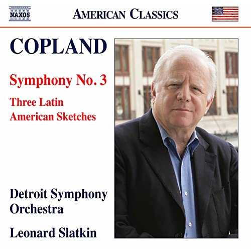 Slatkin: Copland - Symphony no.3, Three Latin American Sketches (24/96 FLAC)