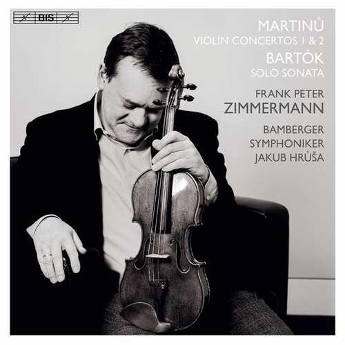 Zimmermann, Hrusa: Martinu - Violin Concertos no.1 & 2, Bartok - Solo Sonata (24/96 FLAC)