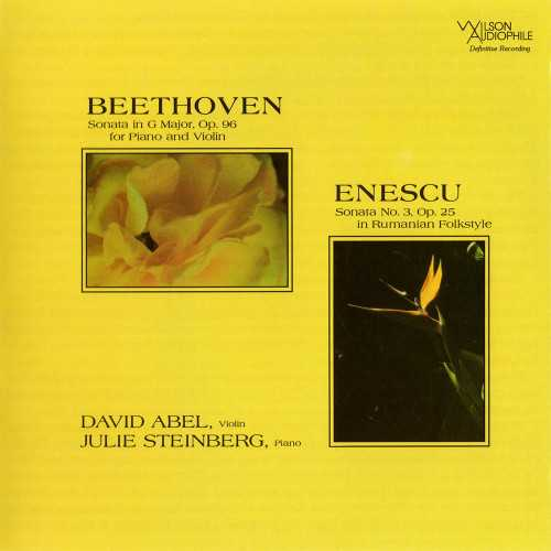 Abel, Steinberg: Beethoven - Violin Sonata op.96, Enescu - Violin Sonata op.25 (SACD)