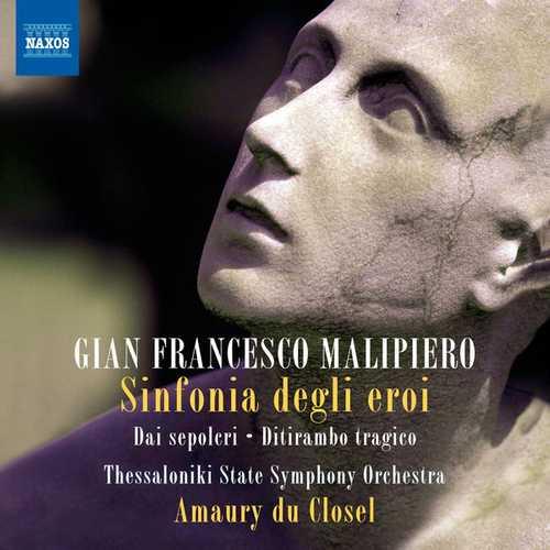 Closel: Malipiero - Sinfonia degli eroi, Dai sepolcri, Ditirambo tragico (24/44 FLAC)