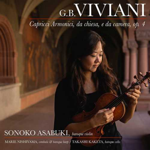 Asabuki: Viviani - Capricci armonici da chiesa e da camera (24/192 FLAC)