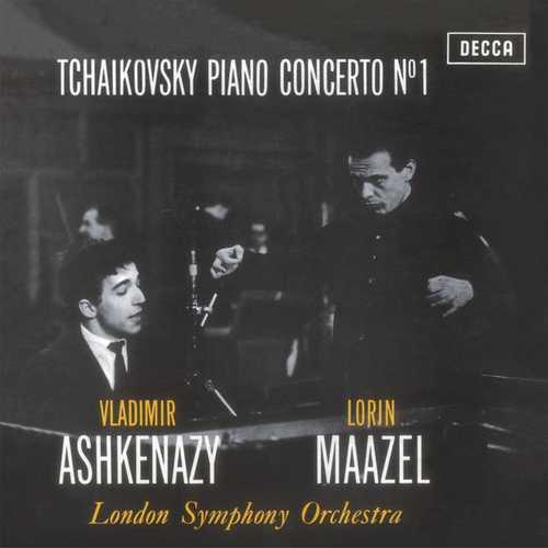 Ashkenazy, Maazel: Tchaikovsky - Piano Concerto no.1 (24/96 FLAC)